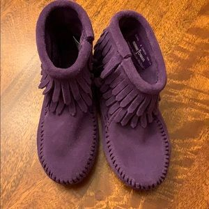 Minnetonka mocassins toddler